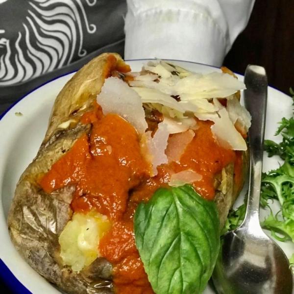 Patata Parmigiana